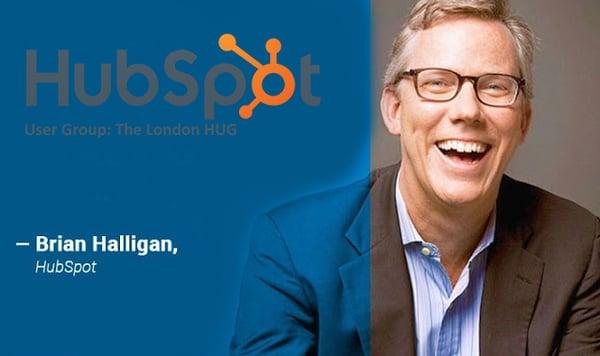 Brian Halligan at the London HUG by Whitehat SEO